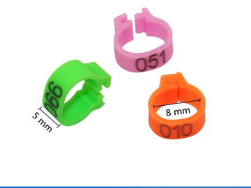 Offering without online payment: Pigeon, Birds, Leg, Rings, Identification Bands, Tag, Aluminum, C